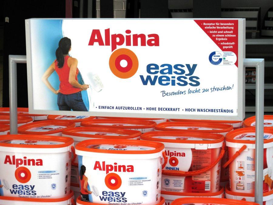 Alpina Palettenüberbau | Kontur Design & Produktion